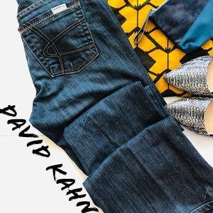 David Kahn Boot Cut Jeans 29 size 8